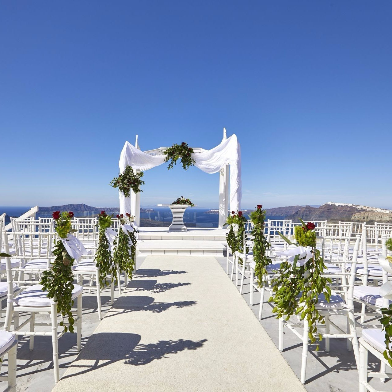 santorini wedding cinematography