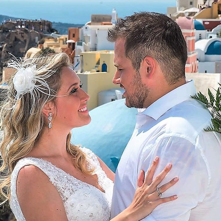 santorini wedding videographers